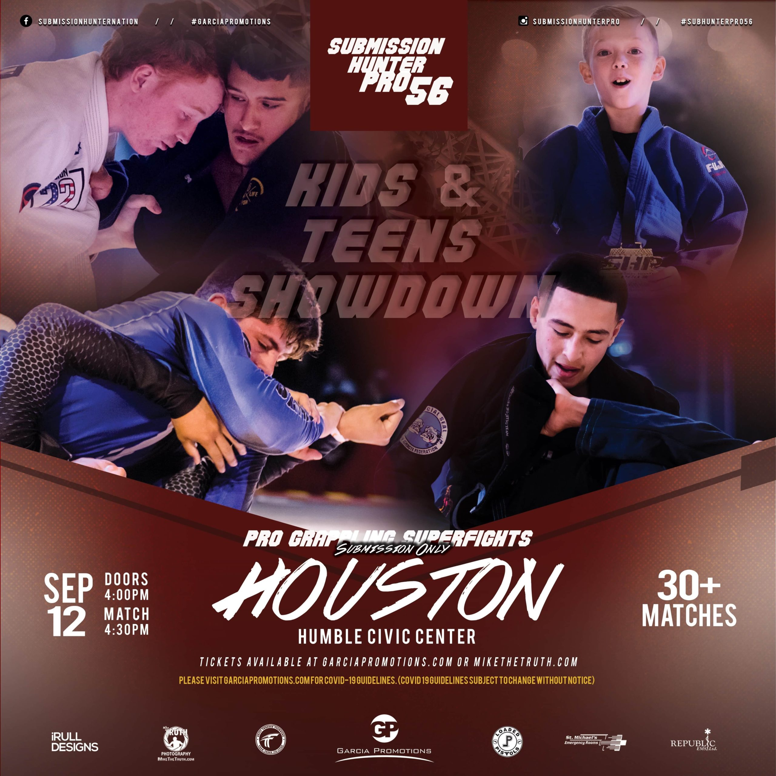 PRO GRAPPLING SUPERFIGHTS - KIDS & TEENS SHOWDOWN