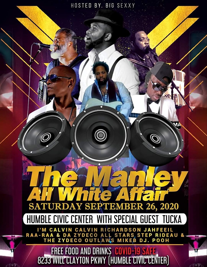 ALL WHITE PARTY & ZYDECO FESTIVAL by The Manley Family