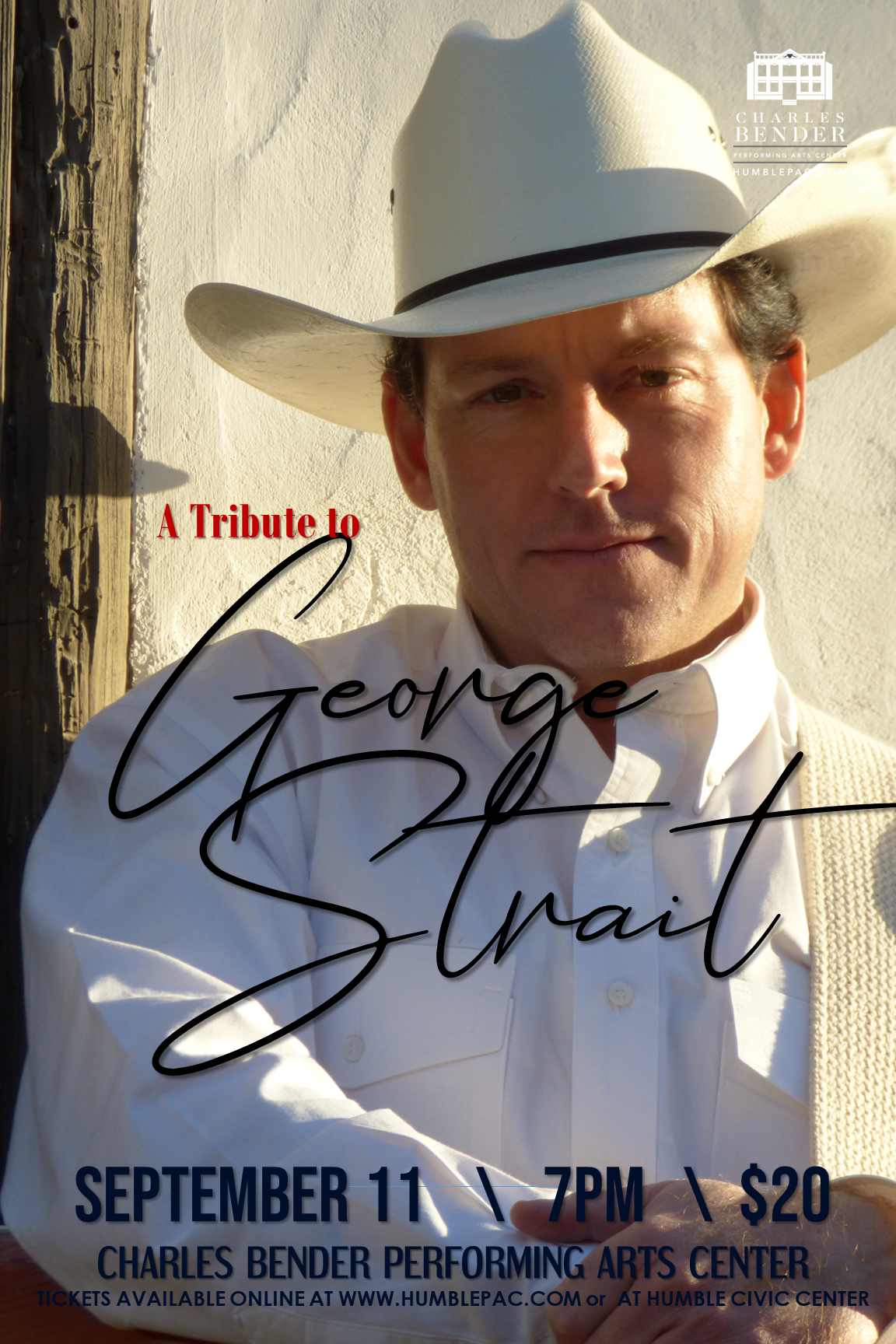 GEORGE STRAIT TRIBUTE CONCERT WITH DEREK SPENCE