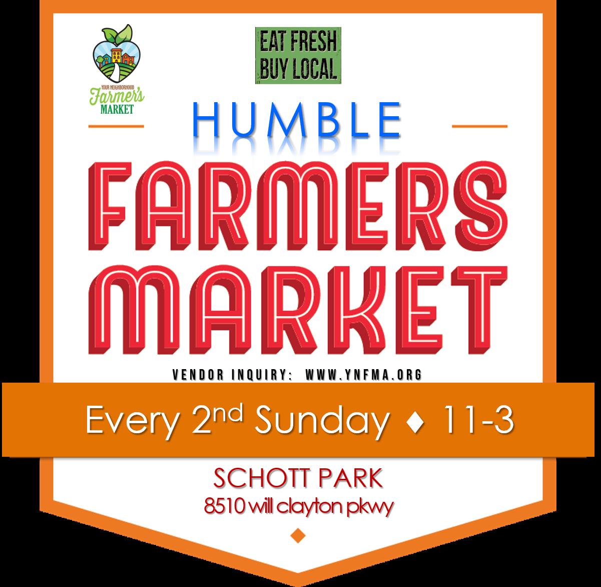 HUMBLE FARMER'S MARKET