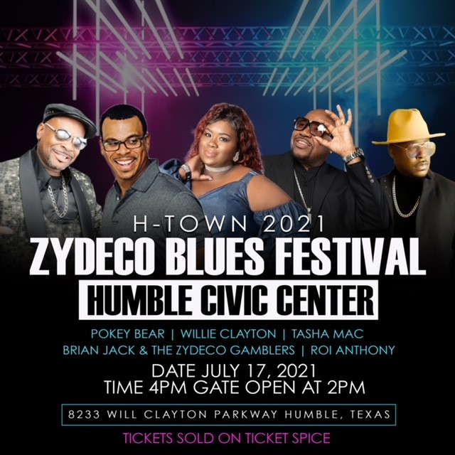 ZYDECO BLUES FESTIVAL